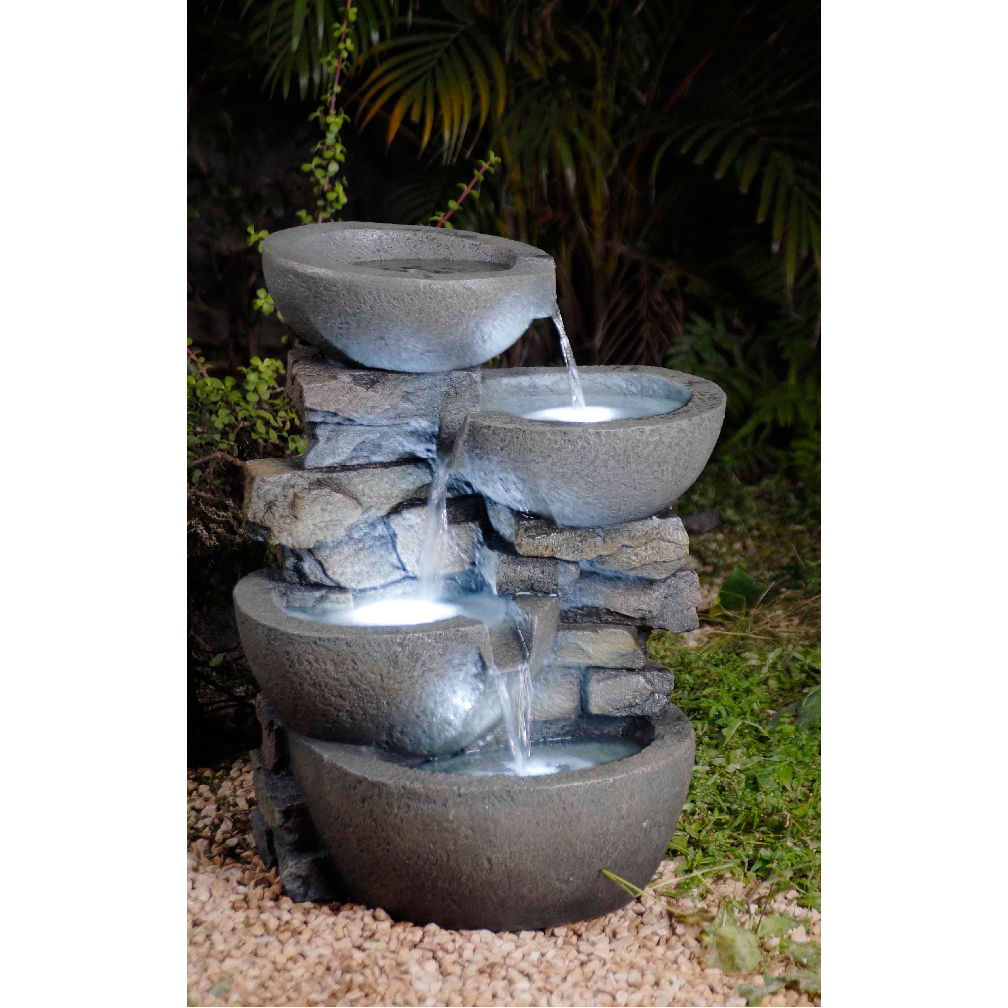 modern water fountains home photo - 1