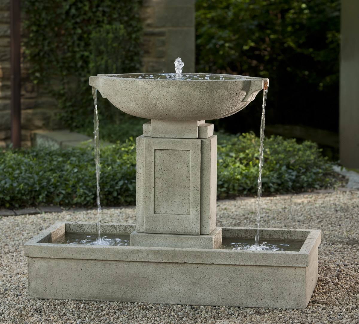 modern water fountains home photo - 3