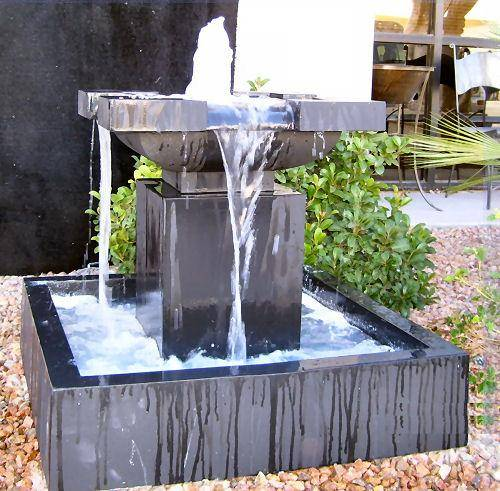 modern water fountains home photo - 7