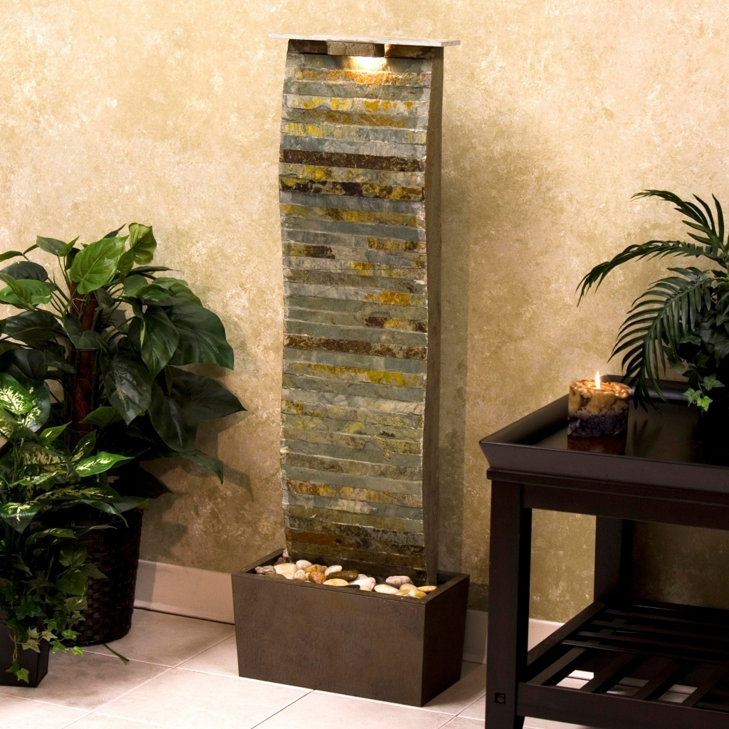 modern water fountains indoor photo - 4