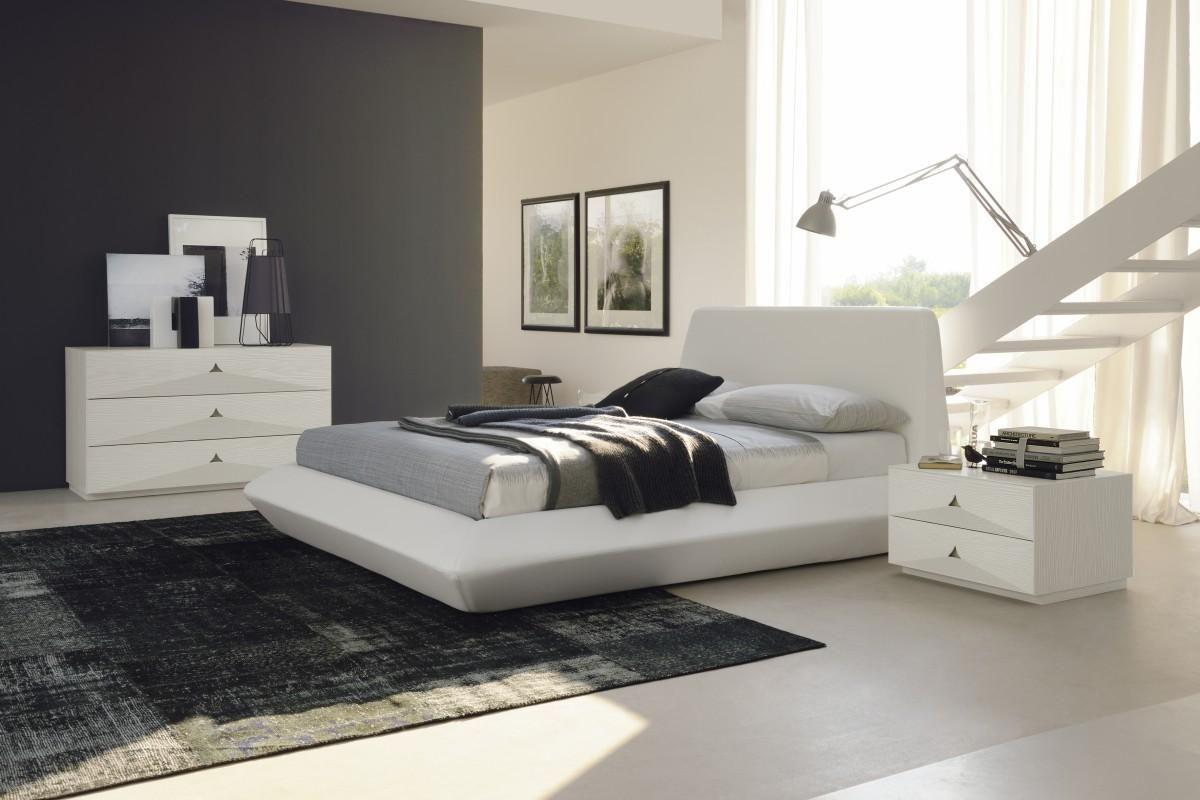 modern white bedroom furniture sets photo - 9