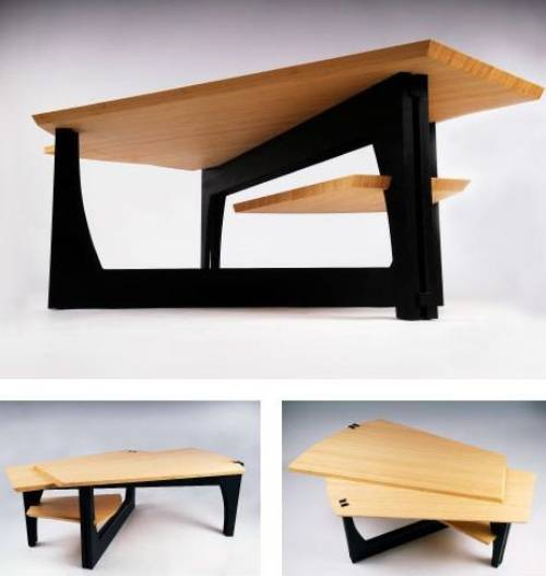 Merveilleux Modern Wood Coffee Table Designs