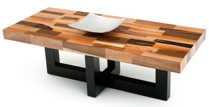 modern wood coffee table designs photo - 4