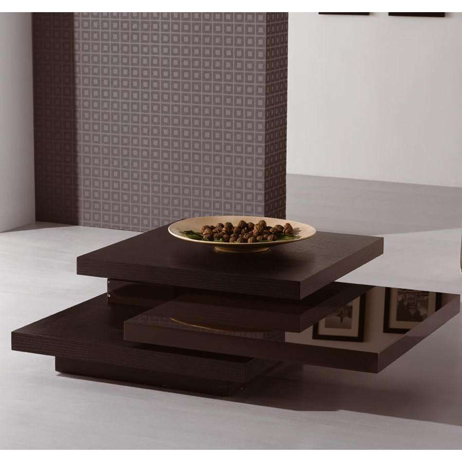 modern wood coffee table designs photo - 7