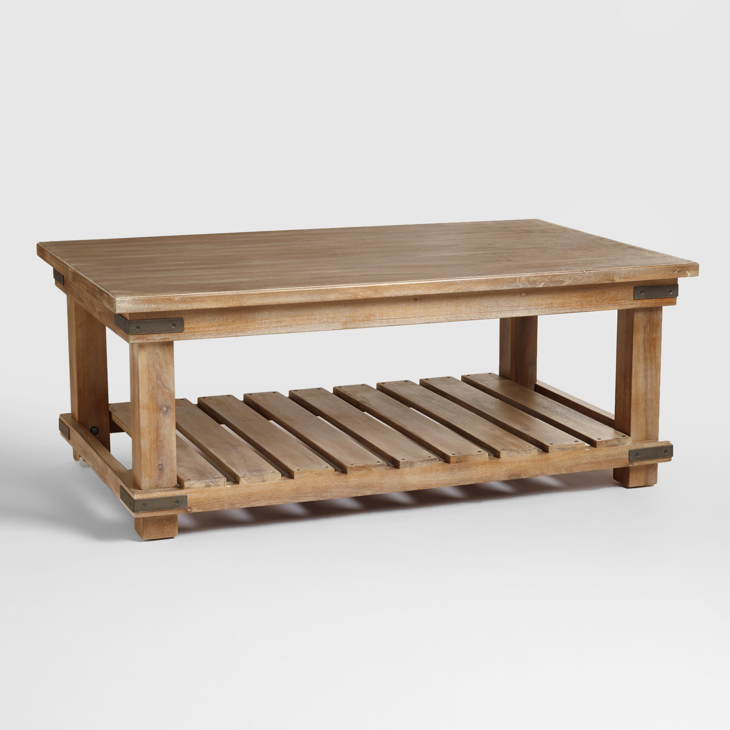 modern wooden coffee table designs photo - 10