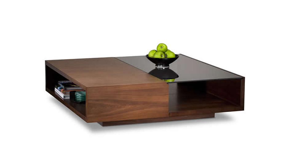 modern wooden coffee table designs photo - 4