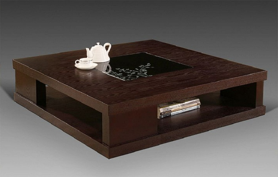 modern wooden coffee table designs photo - 5