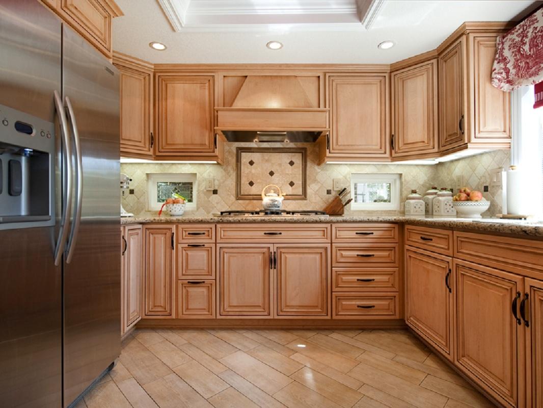 narrow u shaped kitchen designs photo - 3