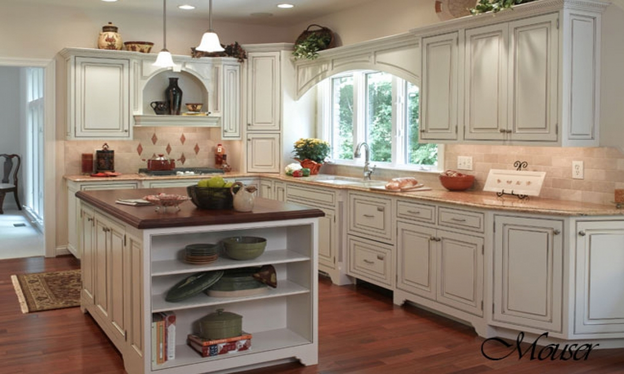 oak country kitchen designs photo - 7