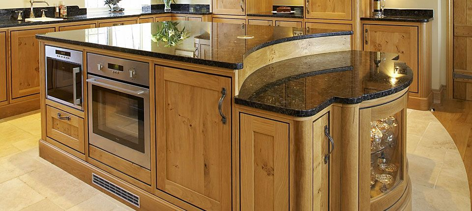 oak country kitchen designs photo - 9