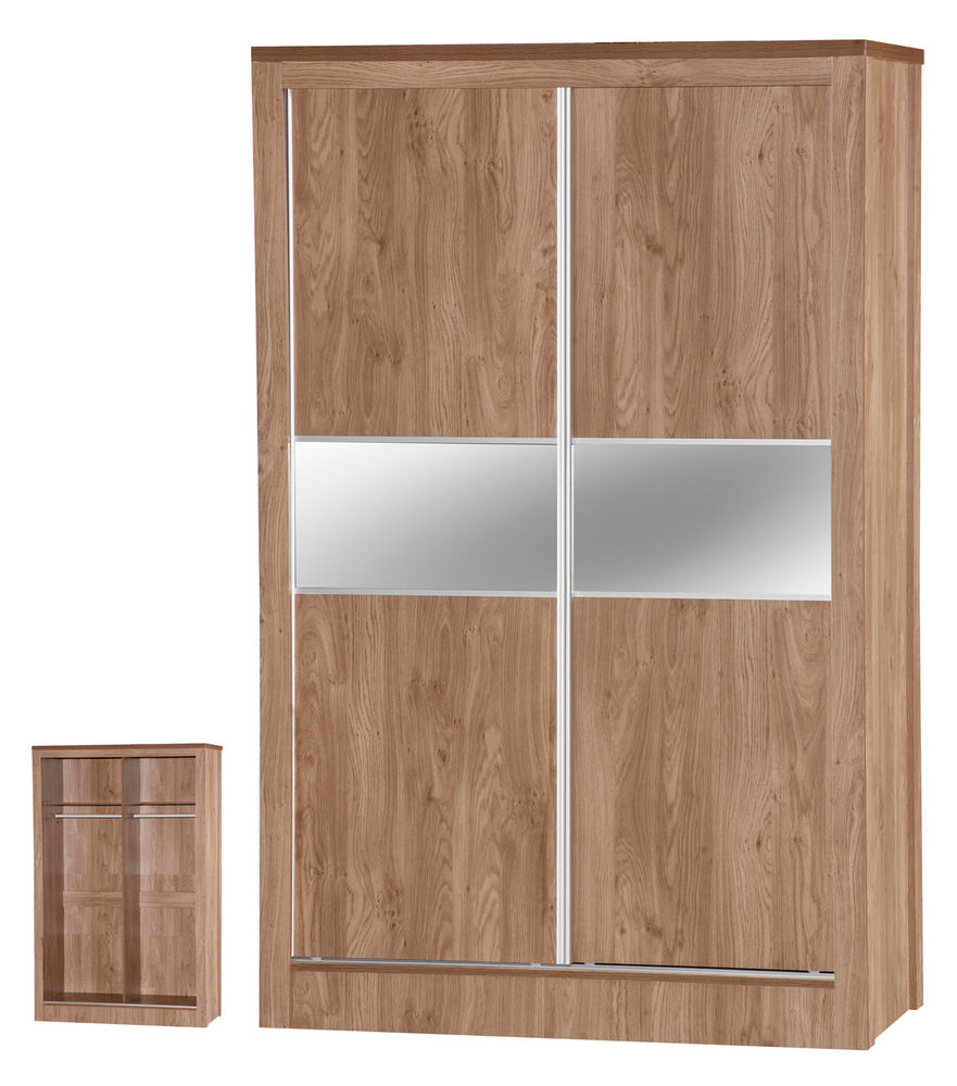 oak mirrored bedroom furniture photo - 7