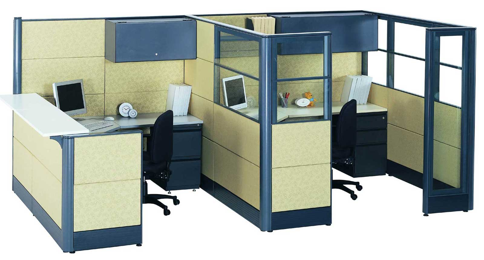 office cubicle glass walls hawk haven