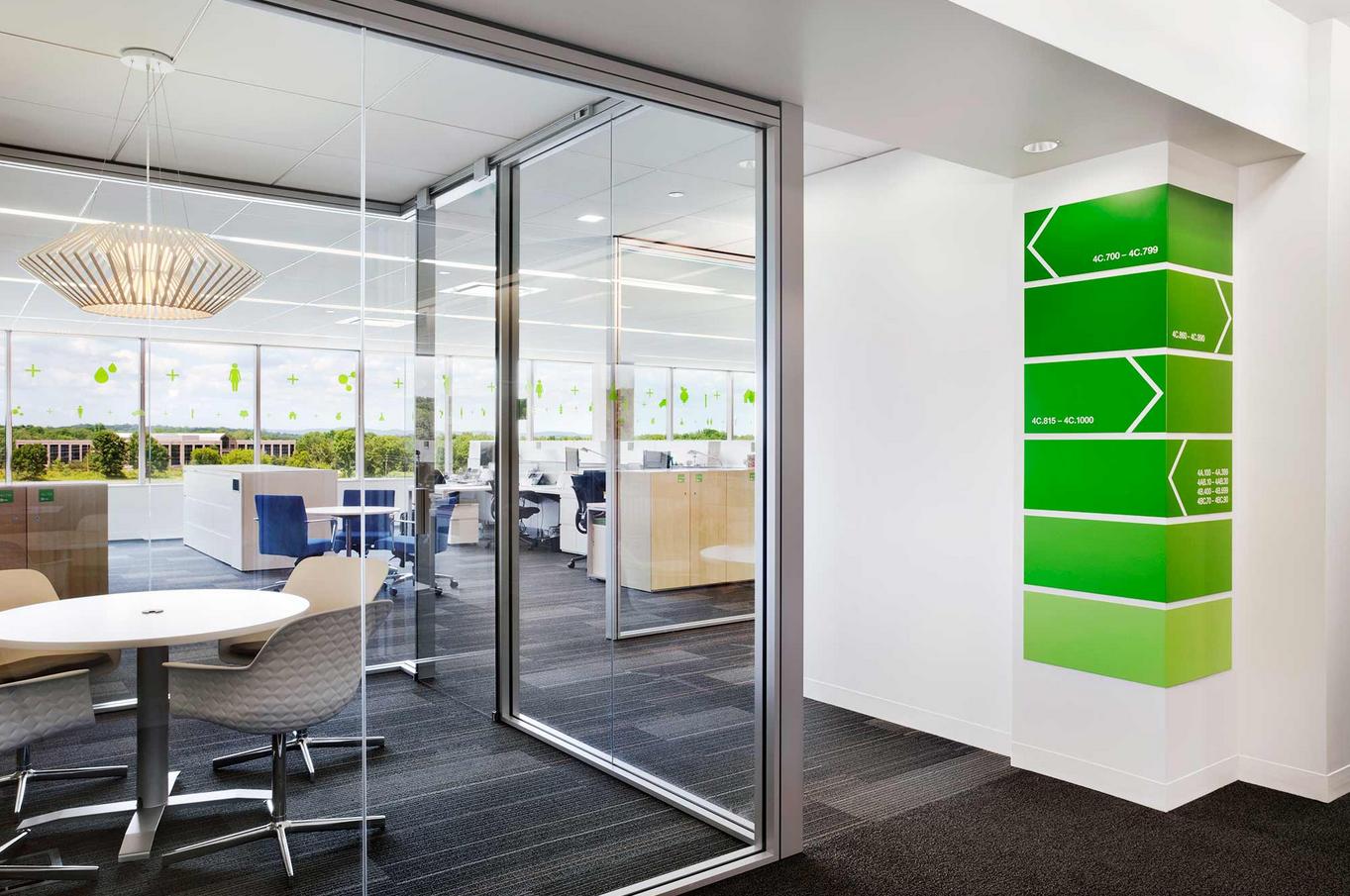 Office Design Glass Walls Hawk Haven