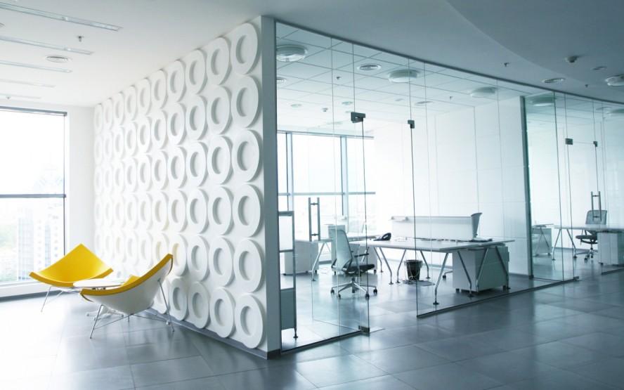 Office Design Glass Walls Photo   3