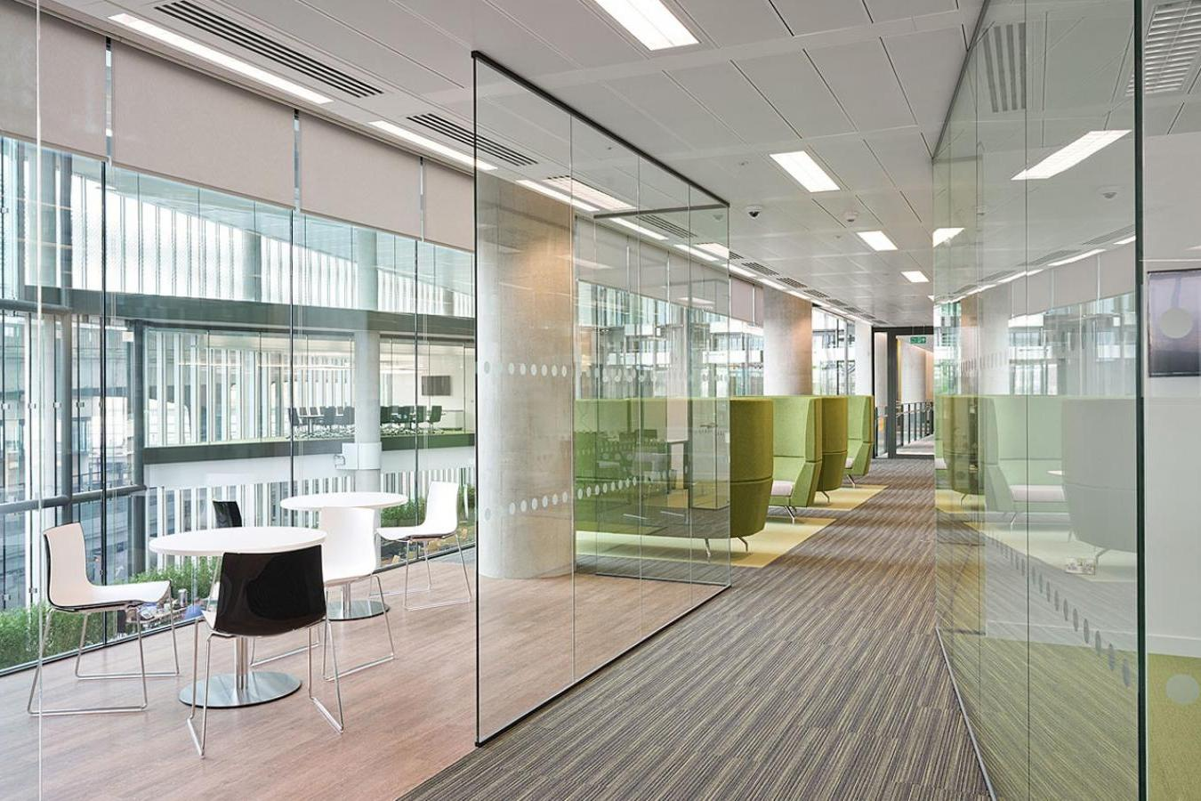 office design glass walls hawk haven