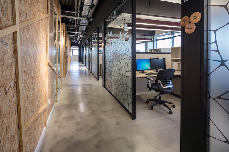 Office Design Glass Walls Photo   5