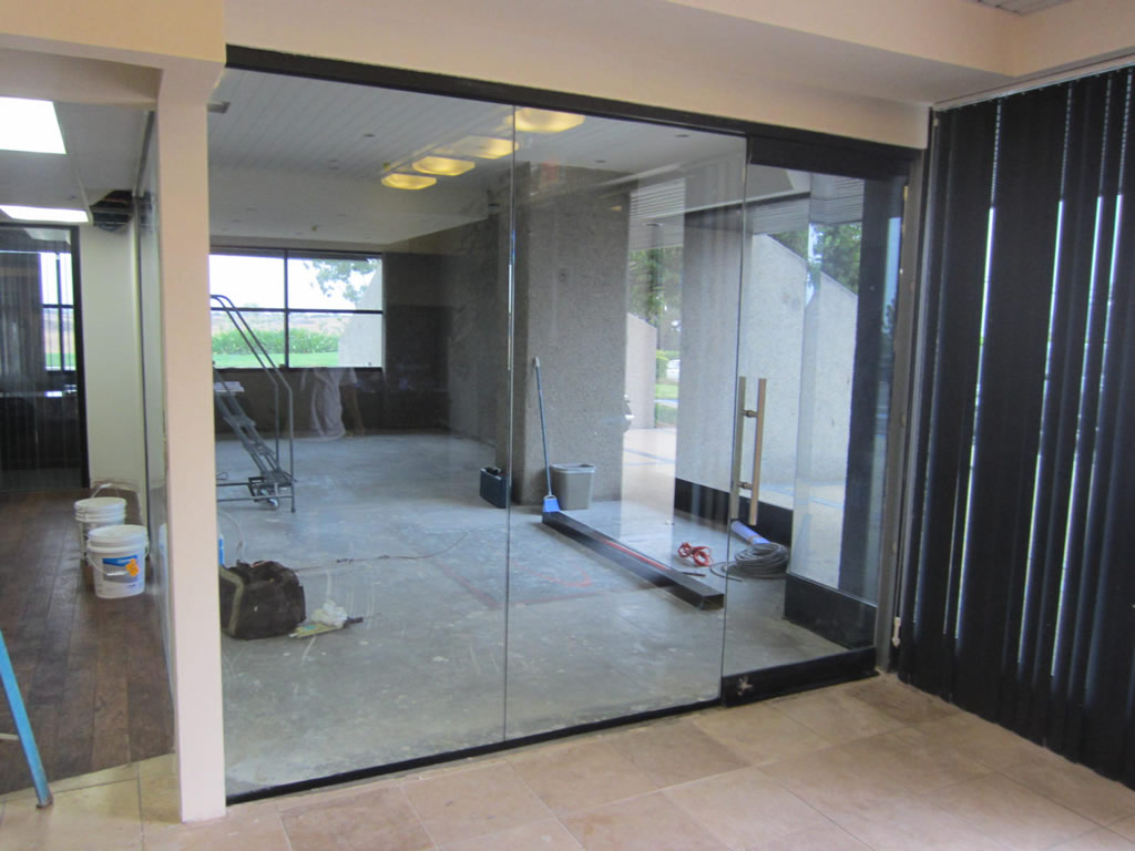 Office Interior Glass Walls Hawk Haven