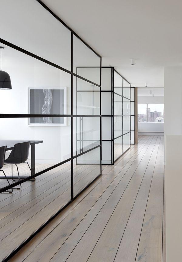 office interior glass walls photo - 7