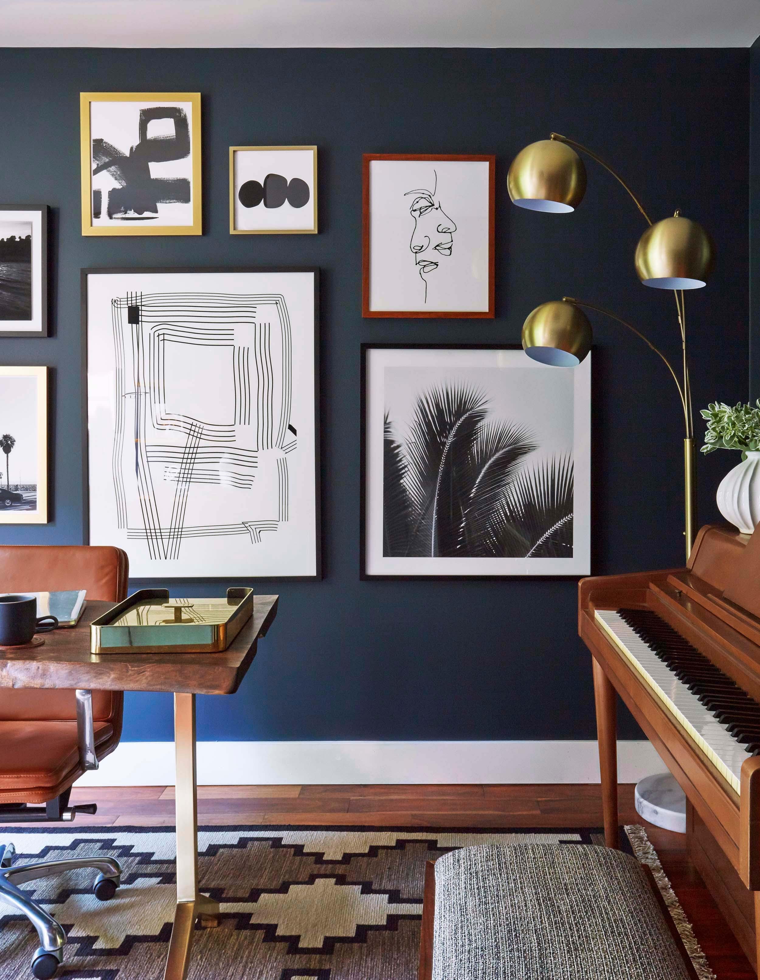 Office wall decor for men | Hawk Haven