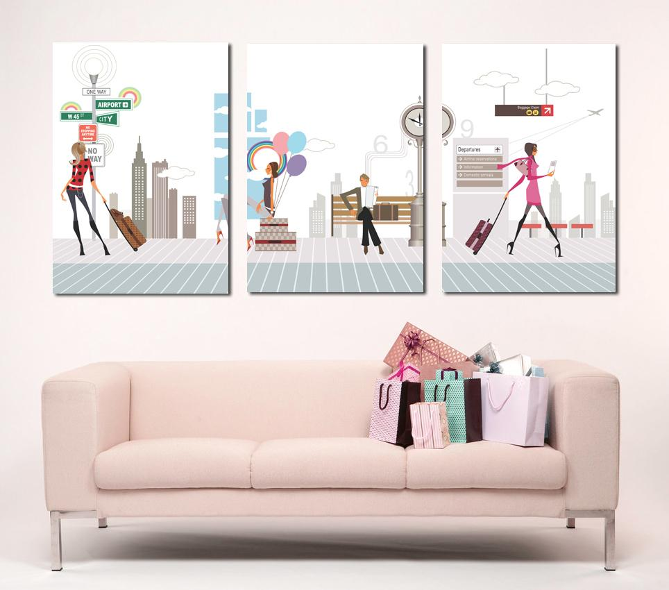 office wall decor modern photo - 3
