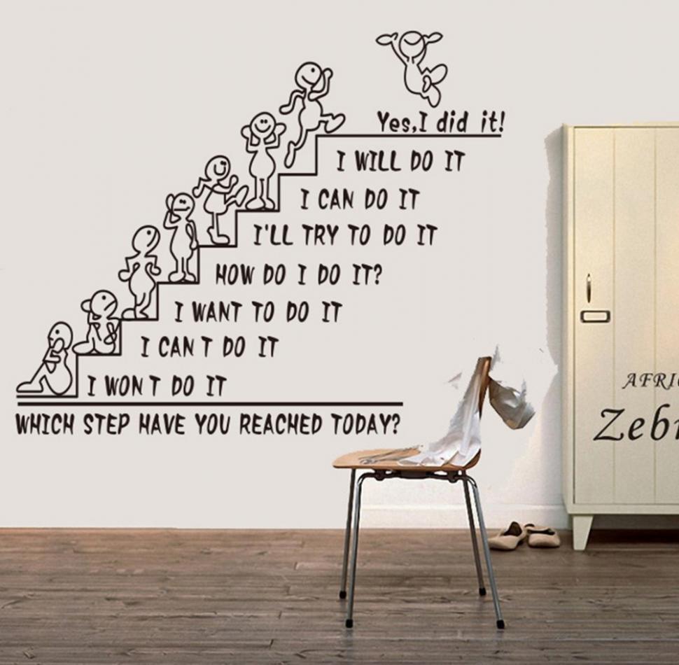 office wall decor motivational photo - 8