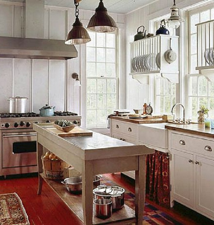 old french country kitchen photo - 10