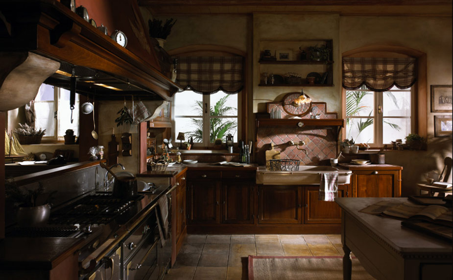 old french country kitchen photo - 8