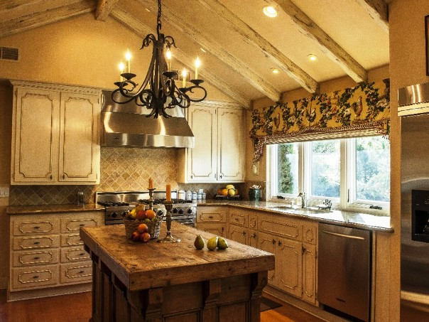 old french country kitchen photo - 9