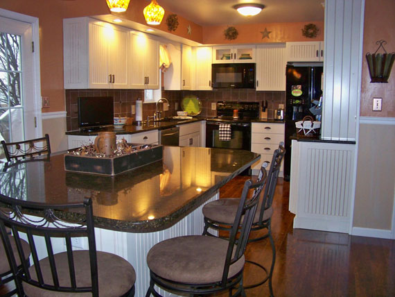 open country kitchen designs photo - 9