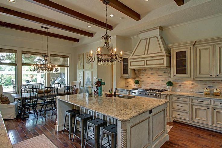 open french country kitchen photo - 1