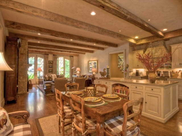 open french country kitchen photo - 2