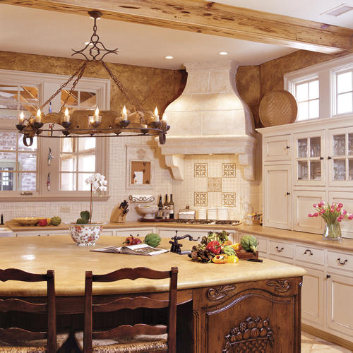 open french country kitchen photo - 4