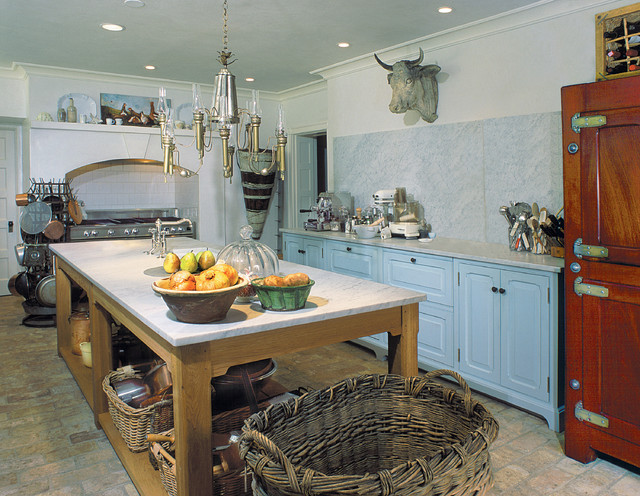 open french country kitchen photo - 8