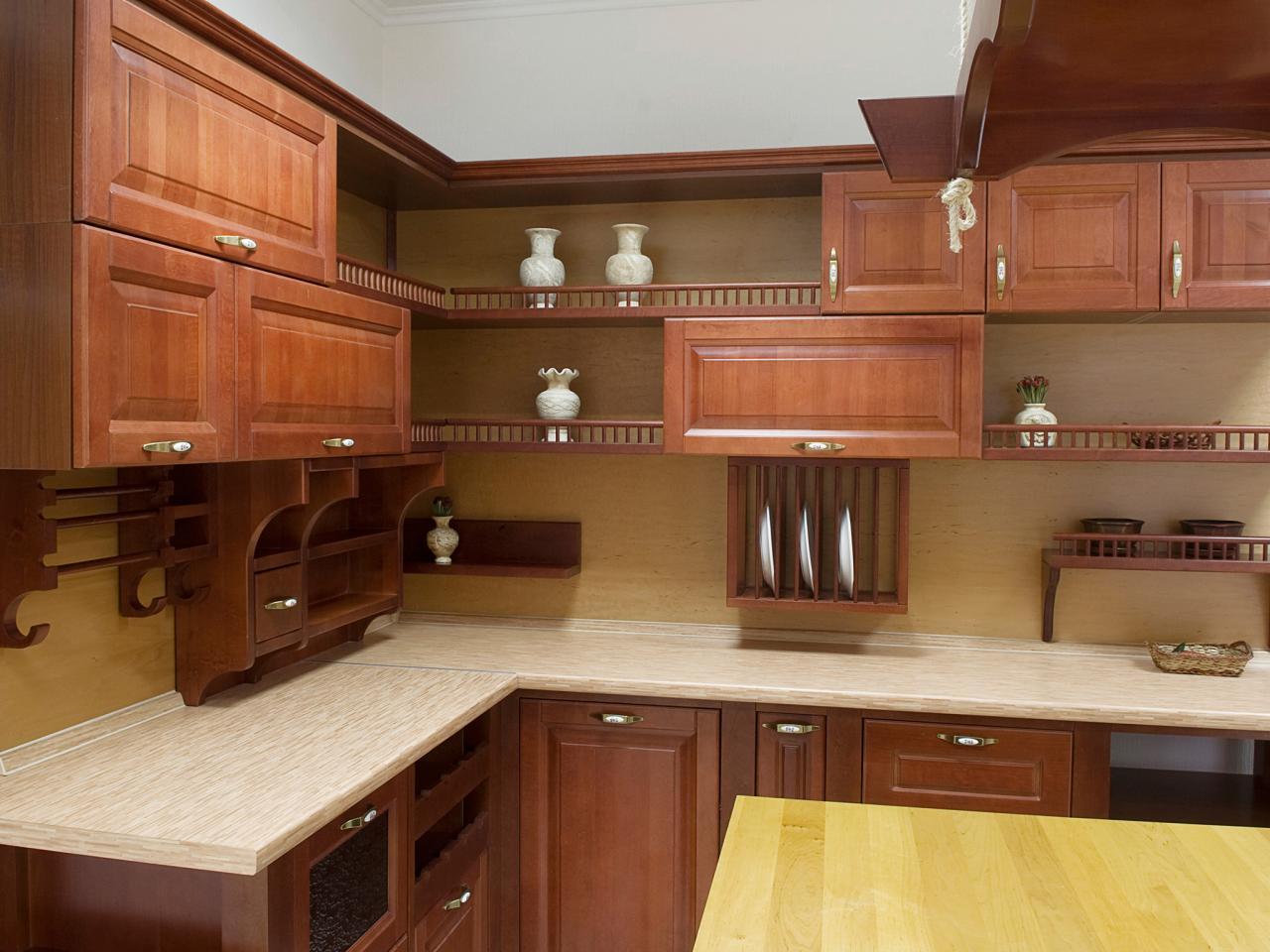 open kitchen cabinets ideas photo - 1
