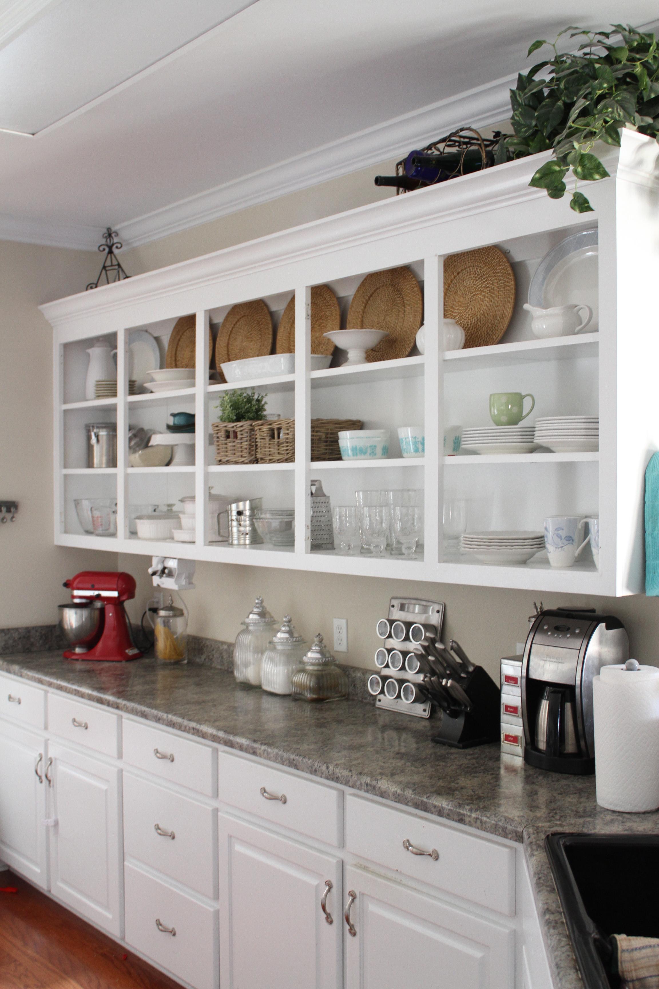 open kitchen cabinets ideas photo - 2