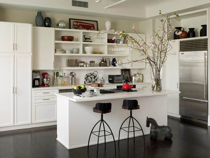 open kitchen cabinets ideas photo - 3