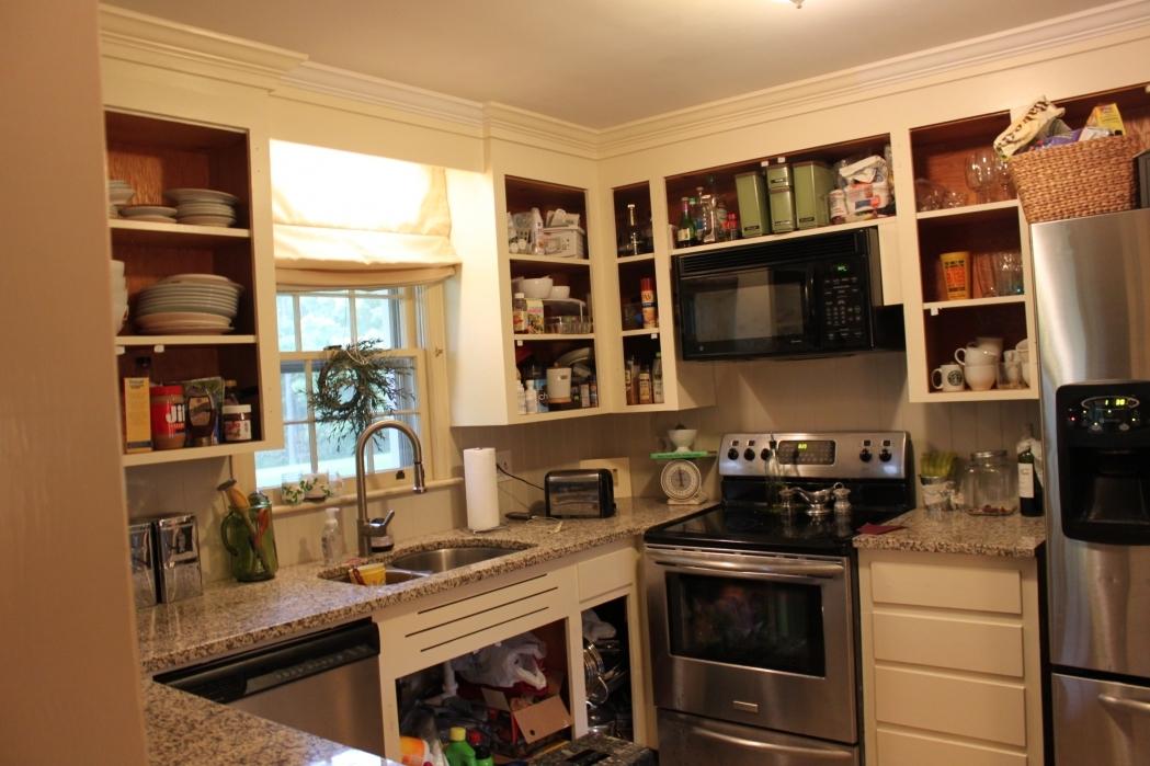 open kitchen cabinets ideas photo - 5