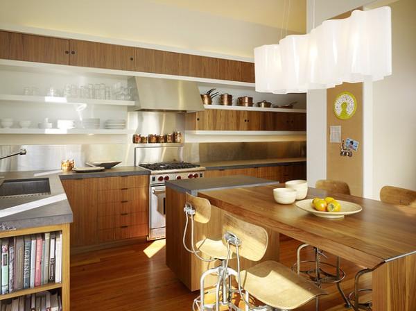 open kitchen cabinets ideas photo - 9