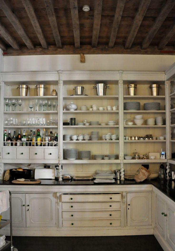 open kitchen pantry shelving photo - 7