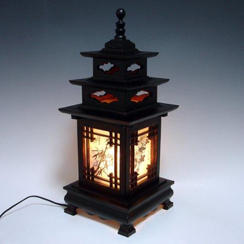 oriental bedroom lamp photo - 10