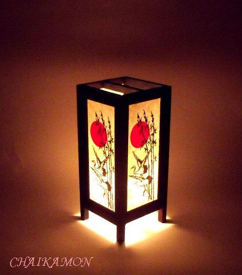 oriental bedroom lamp photo - 2
