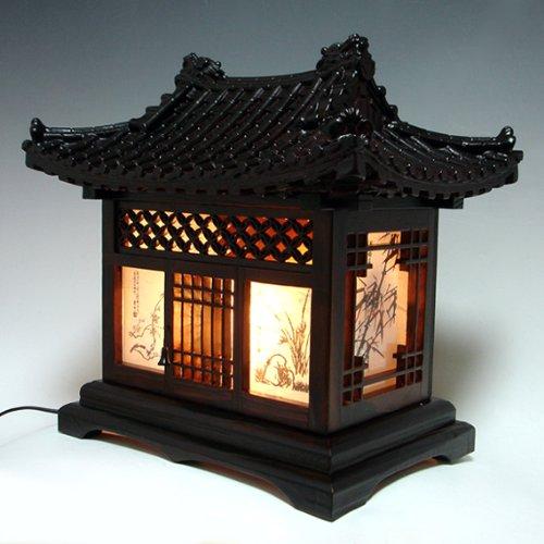 oriental bedroom lamp photo - 5