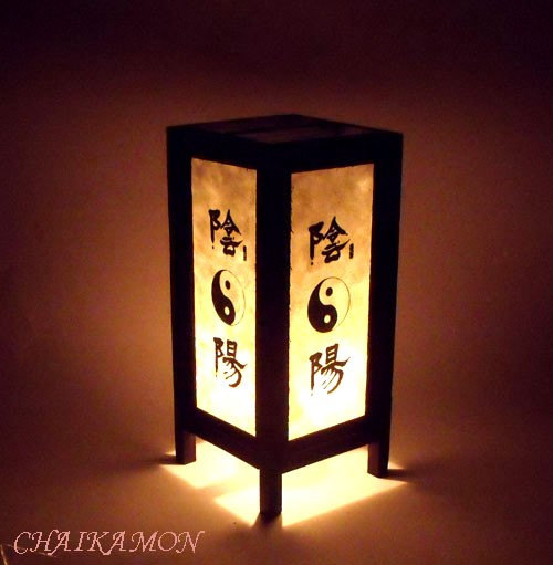 oriental bedroom lamp photo - 6