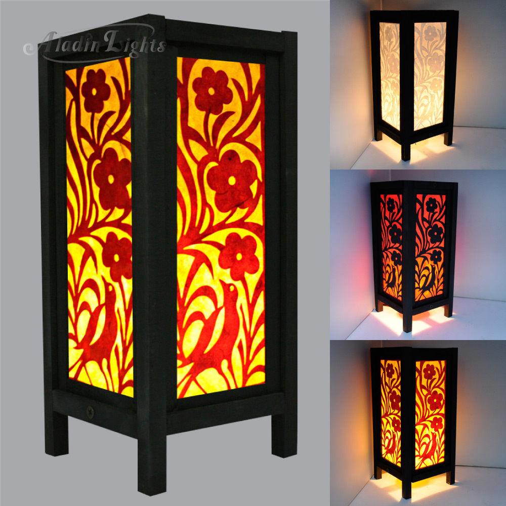 oriental bedroom lamp photo - 8