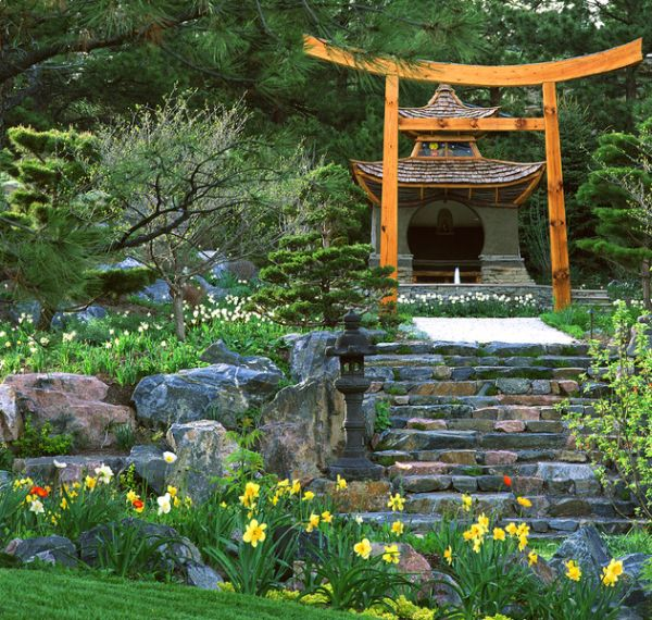 oriental garden design ideas photo - 5