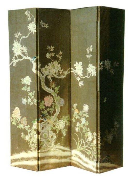 oriental room dividers antique photo - 4