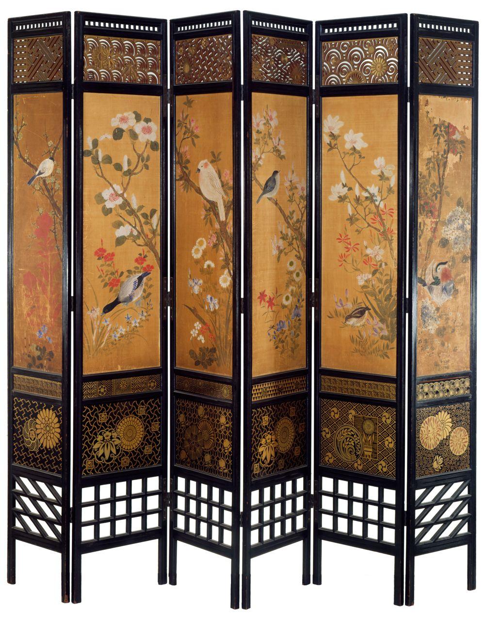 oriental room dividers screens photo - 8