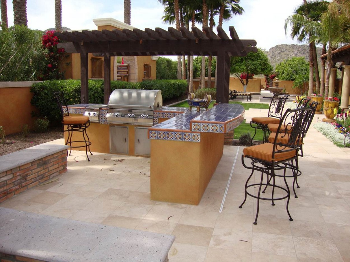 outdoor bar and grill designs photo - 8