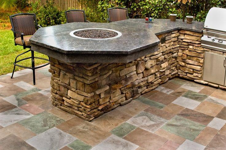 outdoor bar counter designs photo - 10