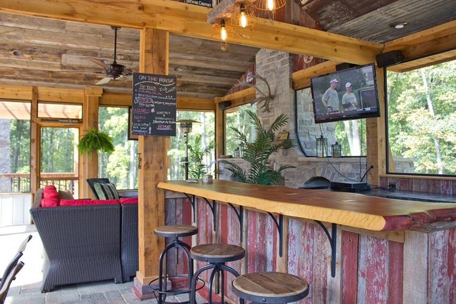 outdoor bar counter designs photo - 5